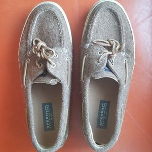 Men's Sperry wool topsider boat shoes